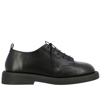 Marsèll Pedula Gommello Derby Shoes In Leather With Rubber Sole