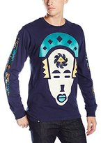 Lrg Men's Faces Places Long Sleeve Tee
