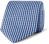 Dunhill 7.5cm Mulberry Silk-jacquard Tie