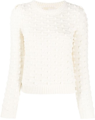 MICHAEL Michael Kors Embroidered Knit Jumper