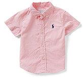 Ralph Lauren Baby Boys 6-24 Months Solid Short-Sleeve Twill Shirt