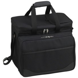 Picnic at Ascot Picnic Cooler for Four, Divided Interior -Leak Proof Lining
