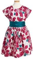 Tea Collection Toddler Girl's Shibui Sash Dress