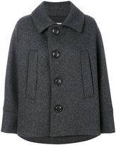 DSQUARED2 oversized jacket - women - Polyamide/Polyester/Cashmere/Virgin Wool - 38