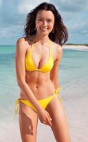 Voda Swim Yellow String Bikini Bottom