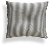 Matteo Black Tick Throw Pillow