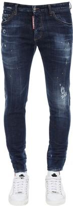 DSQUARED2 16cm Skinny Dan Cotton Denim Jeans