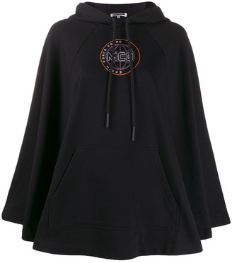 McQ logo embroidered hoodie
