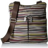 Baggallini Horizon Crossbody Java Stripe