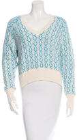 Joseph High-Low Knit Sweater