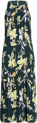 Halogen Sleeveless Pleated Dress