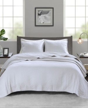 Madison Home USA Keaton 2-Piece Twin/Twin Xl Quilted Coverlet Set Bedding