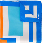 Kiton printed pocket square