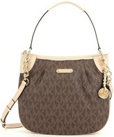 Michael Kors Jet Set Signature Convertible Shoulder Bag