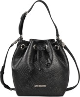 Love Moschino Embossed Logo Bucket Bag