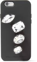 Stella McCartney Crystal-embellished rubber iPhone 6 case