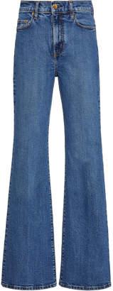 Nobody Denim Jacqueline High-Rise Flared Jeans
