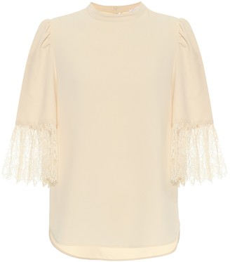 See by Chloe Crepe top