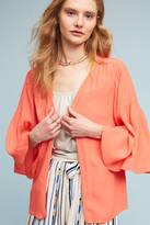 Anthropologie Ruffled-Sleeve Kimono