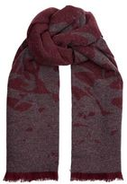 McQ Swallow Reversible Scarf