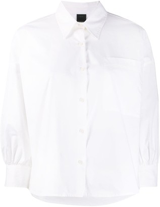 Pinko Pointed Collar Relaxed-Fit Shirt