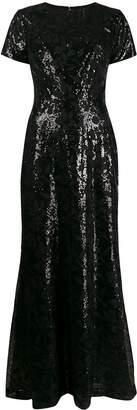 Lauren Ralph Lauren floral sequinned dress