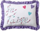 Bed Bath & Beyond Amanda Embroidered Oblong Throw Pillow in Multi