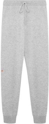 Les 100 Ciels Cherry Cashmere Joggers In Smoke