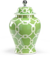 The Well Appointed House Large Green Covered Vase
