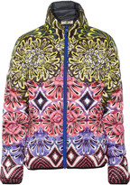 Just Cavalli Kaban reversible quilted printed shell jacket