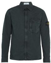 Stone Island Brushed Cotton-canvas Jacket