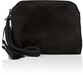 The Row Women's Multi-Pouch Suede Wristlet - Black