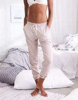 aerie Lace-Up Fleece Pant