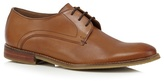 J By Jasper Conran Tan Leather Derby Shoes