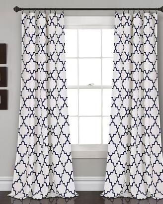 Triangle Home Fashion Bellagio Room Darkening Window Curtain Panels