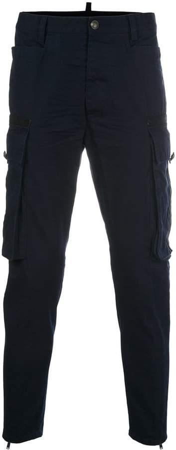 DSQUARED2 slim cargo trousers