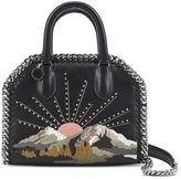 Stella McCartney black falabella box nashville mini bag