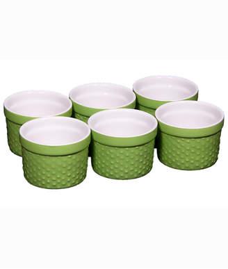 Home Essentials Hobnail Set Of Six 3In Mini Ramekins