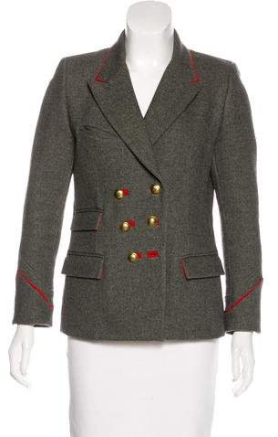 Isabel Marant Wool Double-Breasted Jacket