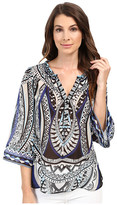 Hale Bob The Bold and the Beautiful Silk Blouse