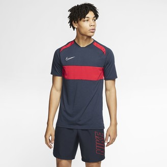 Nike Men's Short-Sleeve Soccer Top Dri-FIT Academy