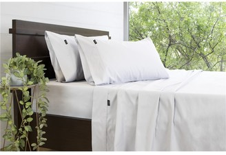 Ardor 3000TC Cotton Rich White Sheet Set King