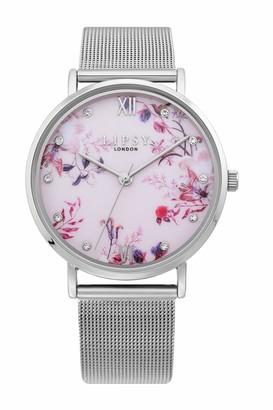 Lipsy Womens Analogue Classic Quartz Watch with PU Strap LP643