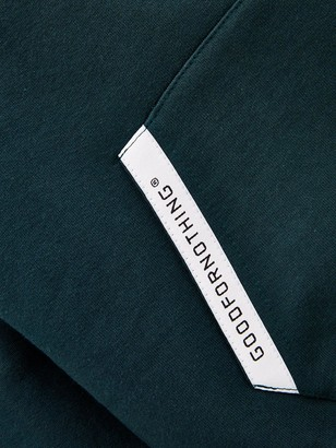Good For Nothing Boys Logo Overhead Hoodie - Green