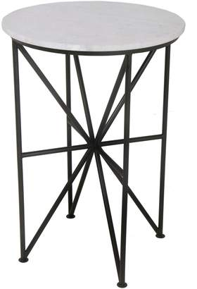 Moe's Home Collection Quadrant Marble Accent Table