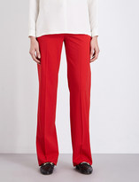 Max Mara Duomo wide-leg stretch-wool trousers