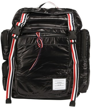 Thom Browne Backpack with three-color bands