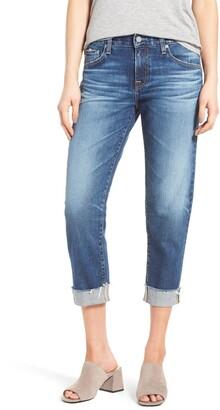AG Jeans The Ex Boyfriend Crop Jeans