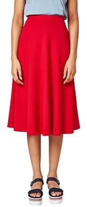 Esprit Women's 038ee1d010 Skirt, Blue (Dark 405), Small