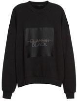 Alexander Wang Label Patch Sweatshirt